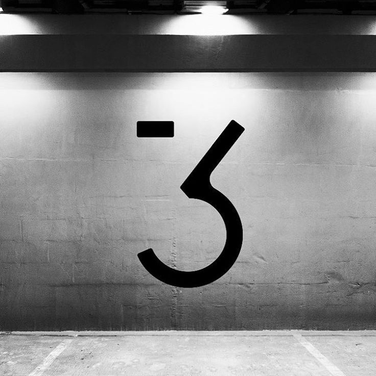 Signage system. #signage #numbers #type #typography #betwentyfive