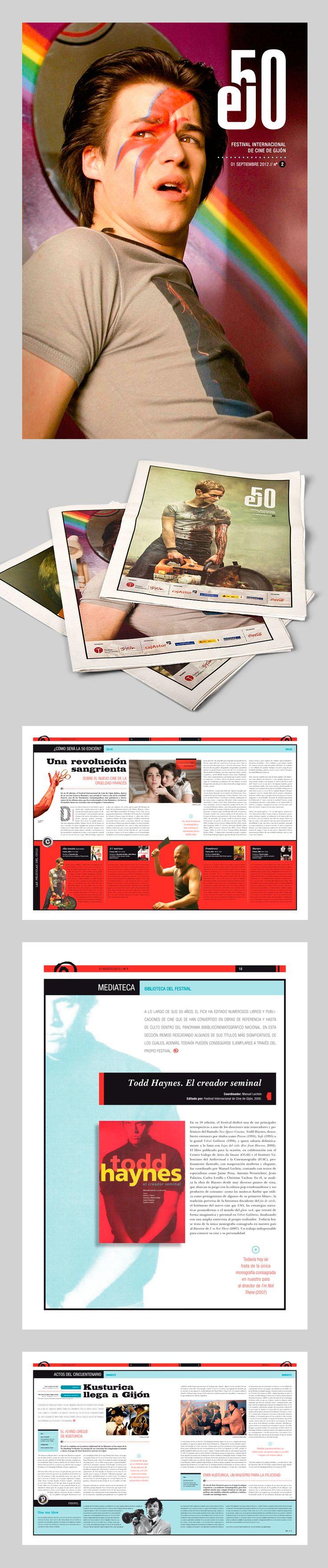 Periódico el50 (FICXixón). Diploma nacional - Premios ANUARIA 2012