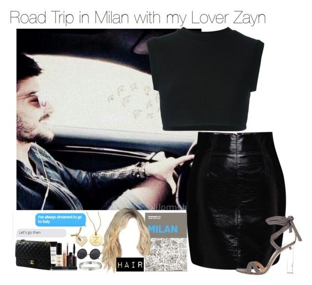 """Road Trip in Italy with Zayn#G"" by ghizlanewilde ❤ liked on Polyvore featuring adidas Originals, Blumarine, Chanel, Gianvito Rossi, Smashbox, Roberto Coin, Kate Spade and Palomar"
