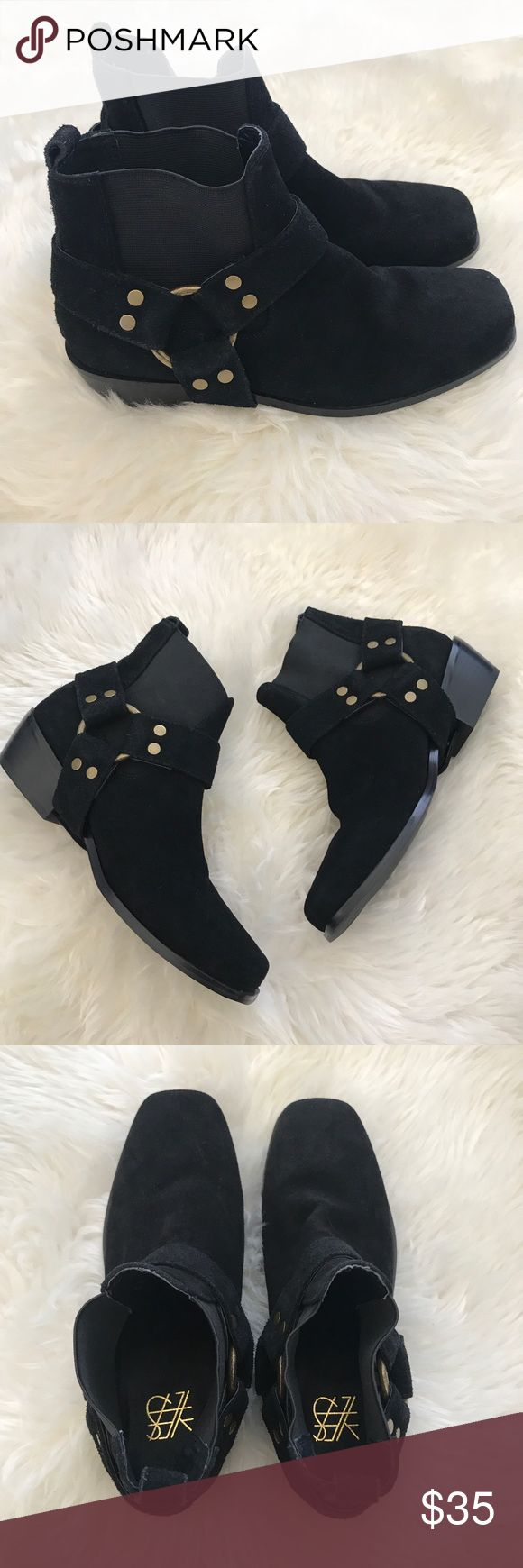 Yes brand Rider boots Size 7 in Women/ Black rider boots/ Brand new By Yes Shoes Ankle Boots & Booties