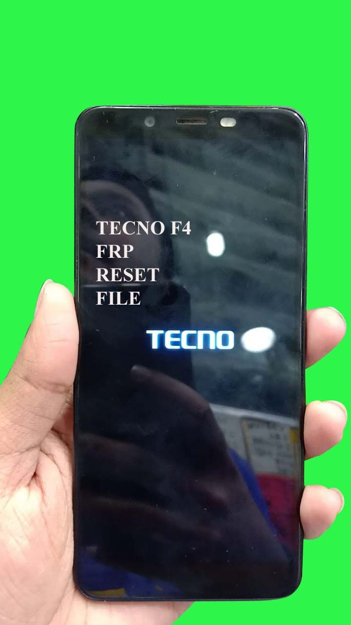 TECNO F4 frp reset Avoid FRP file cm2 boot file and remove