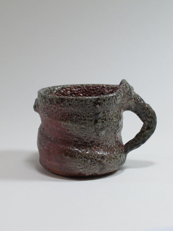 Ross Mitchell-Anyon, cup (part of larger assemblage), 2002, Whanganui, New Zealand. Collection of Auckland Museum, 2002.126.1