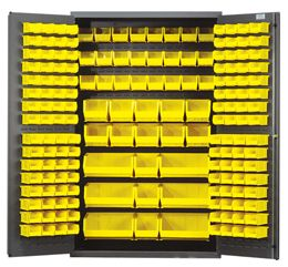 Having a storage are as big as this one could possibly be a good thing depending on the situation.   It makes me wonder what would go into making one of these, and if the shelves are interchangeable.   I suppose it also might depend on the types of things you want to store in there as well.
