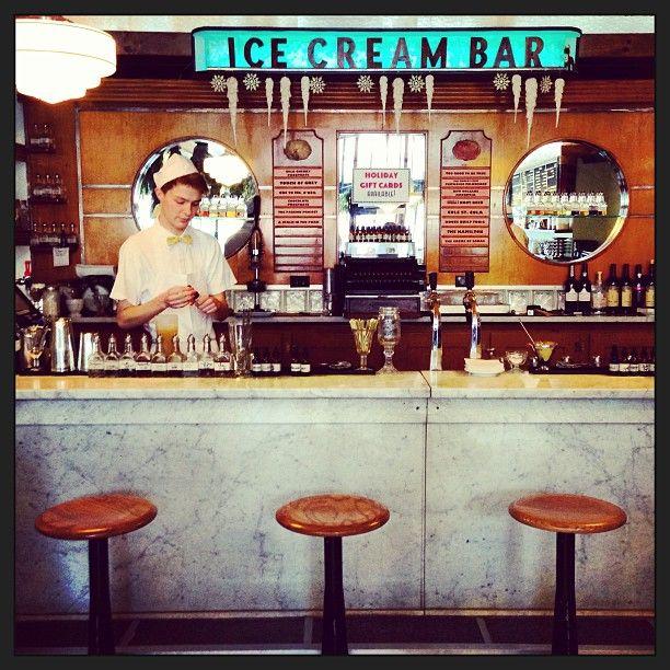 The Ice Cream Bar Soda Fountain in San Francisco, CA