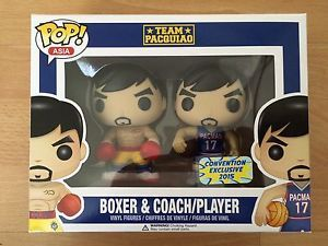 POP ASIA! MANNY PACQUIAO/TEAM PACQUIAO Convention Exclusive 2015 Very RARE Funko