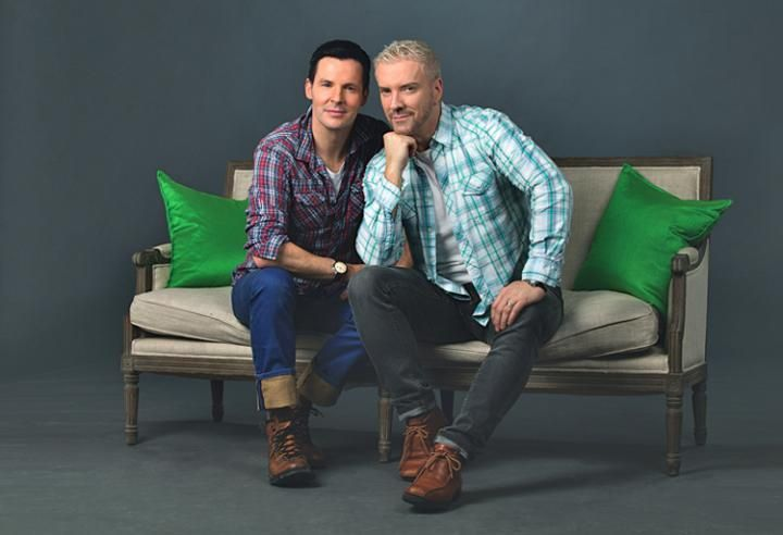 Talking home trends and design tips with Colin and Justin
