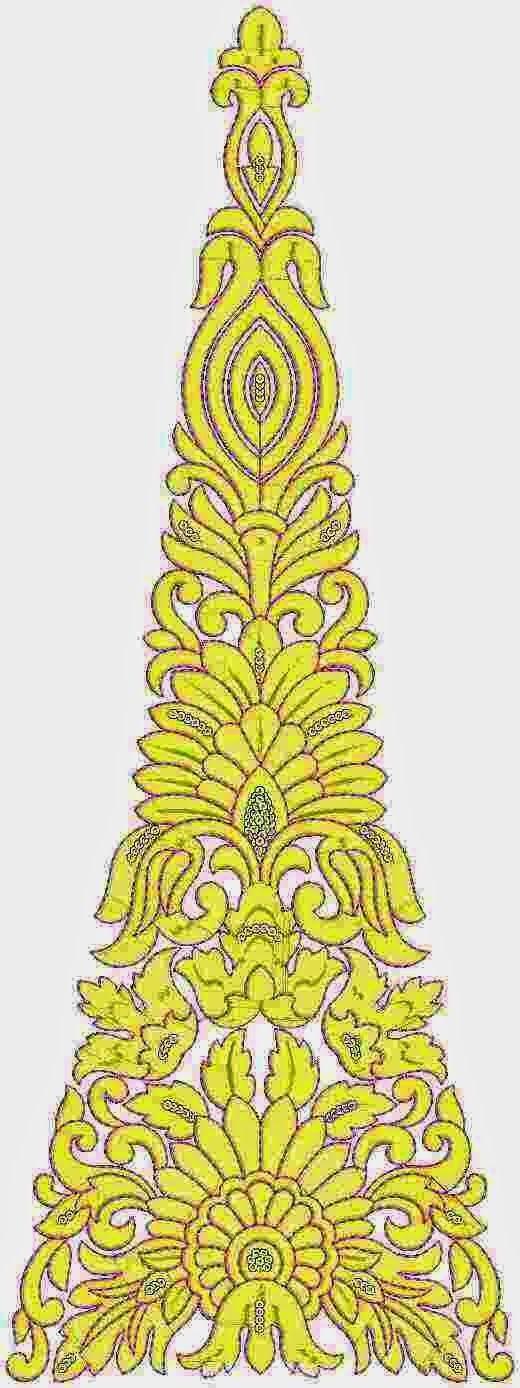 Indiese inheemse mode Kali Patch