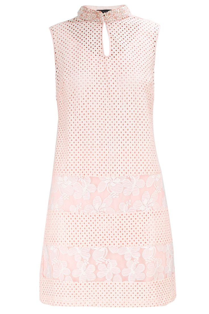 Pink embroidered collars lace tunic available BY ATSU. Shop now at: www.perniaspopups... #perniaspopupshop #amazing #beautiful #clothes #style #designer #fashion #stunning #trend #new