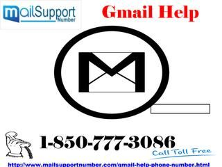 Get Professional And Affordable #GmailHelp 1-850-777-3086 Service Have you lost your Gmail password? Can't you get it back after trying so many times? Say bye- bye to your stress and simply dial 1-850-777-3086 as our technicians always available on phone call to give a quick response to the needy one. Get Gmail Help without paying a single penny and reset your password in a hassle-free manner. For more information. http://www.mailsupportnumber.com/gmail-help-phone-number.html