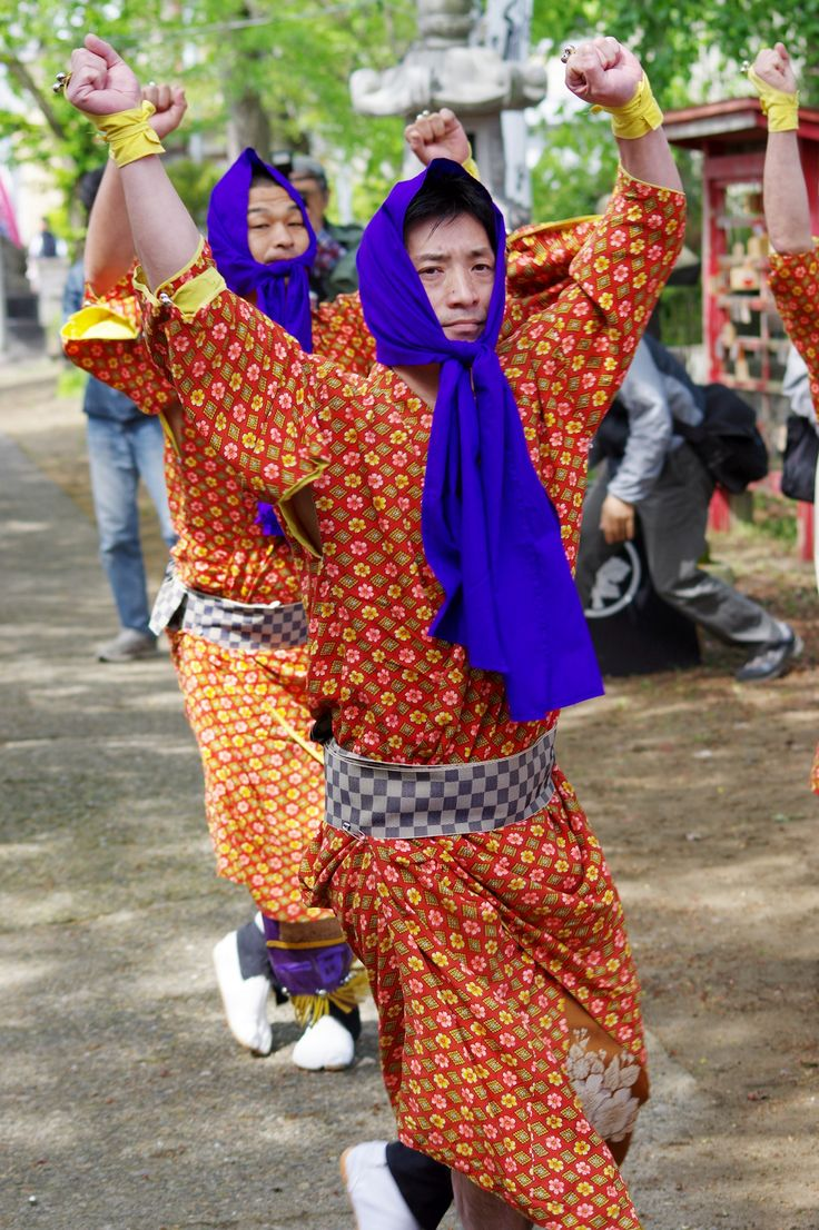 14 Akita Hachirogata town Gannin Dance Japan 2015 2015年5月5日 八郎潟町 一日市神社 大人願人踊り