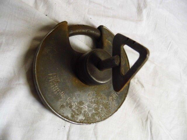 Nr F132 // Großes ; Vorhängeschloß ; Braun´s Patent ; 30er Jahre | Antiquitäten & Kunst, Historische Baustoffe, Bauelemente | eBay!