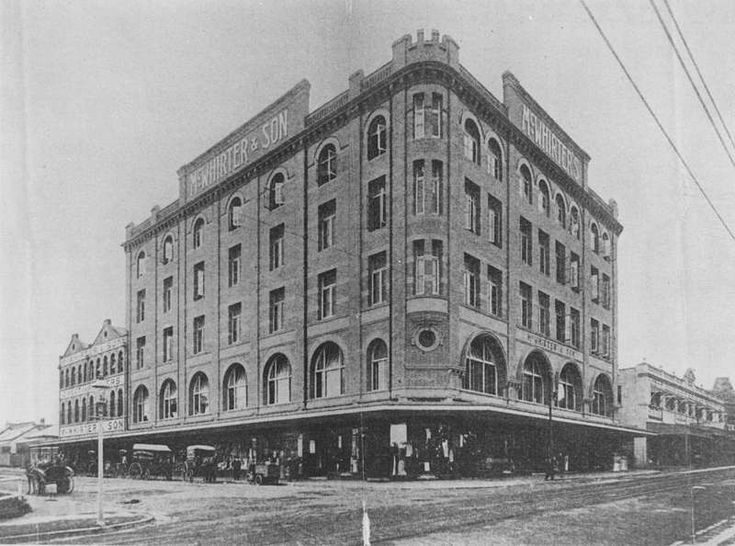 Picture of / about 'Ann Street' Queensland - McWhirter's department store in Fortitude Valley, 1913