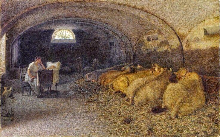 Angelo Morbelli(1853ー1919 Italian painter)