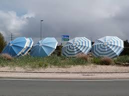 Parasol roundabout at St.Georges de Didonne,Charente Maritime