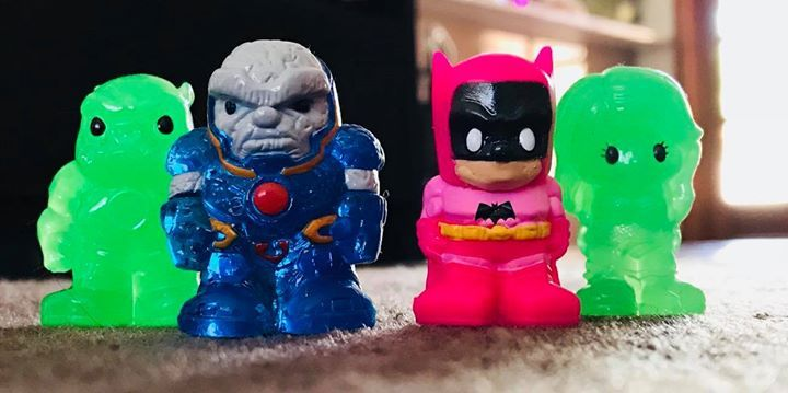 Make sure you get your #Ooshies season 3 collectibles and look out for these rare ones! #SuperHero #Batman #SuperHeroes #Marvel
