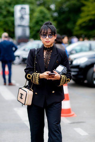 """Parigi, alta moda """"da strada"""""""