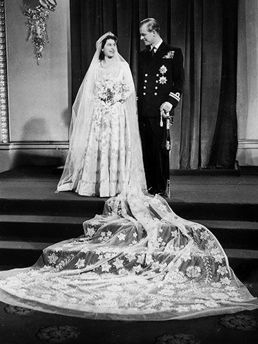 They weren't always white. See how the classic bridal gown has changed through the years.