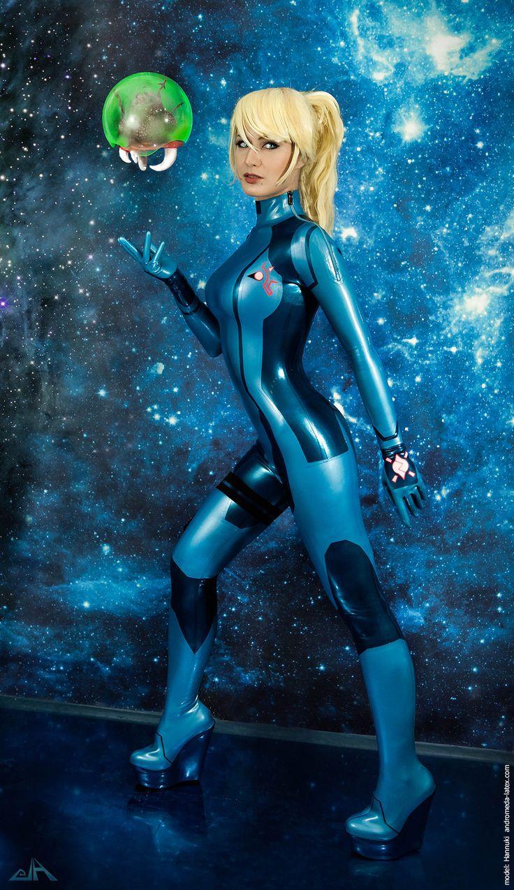 Zero Suit Samus by Hannuki cosplay