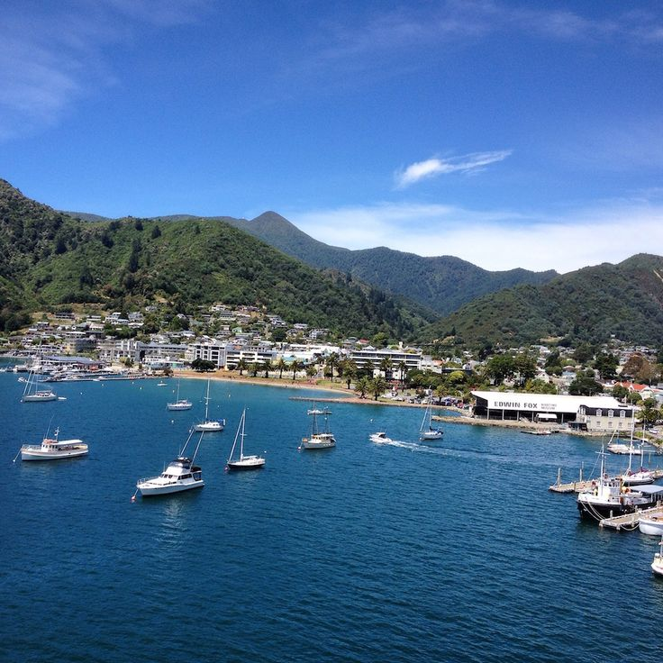 Picton South Island New Zealand