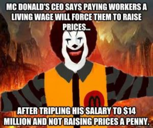 McDonald's offers worker a budget solution: Apply for food stamps