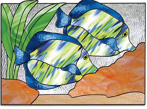 214 best images about stained glass turtles fish for Stained glass fish patterns