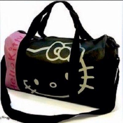 f9ad9a1a3183 Hello kitty travel bag gym bag