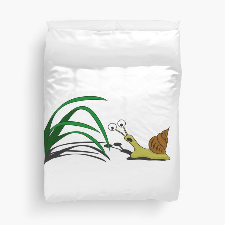 Snail on the grass • Also buy this artwork on home decor, apparel, stickers, and more.