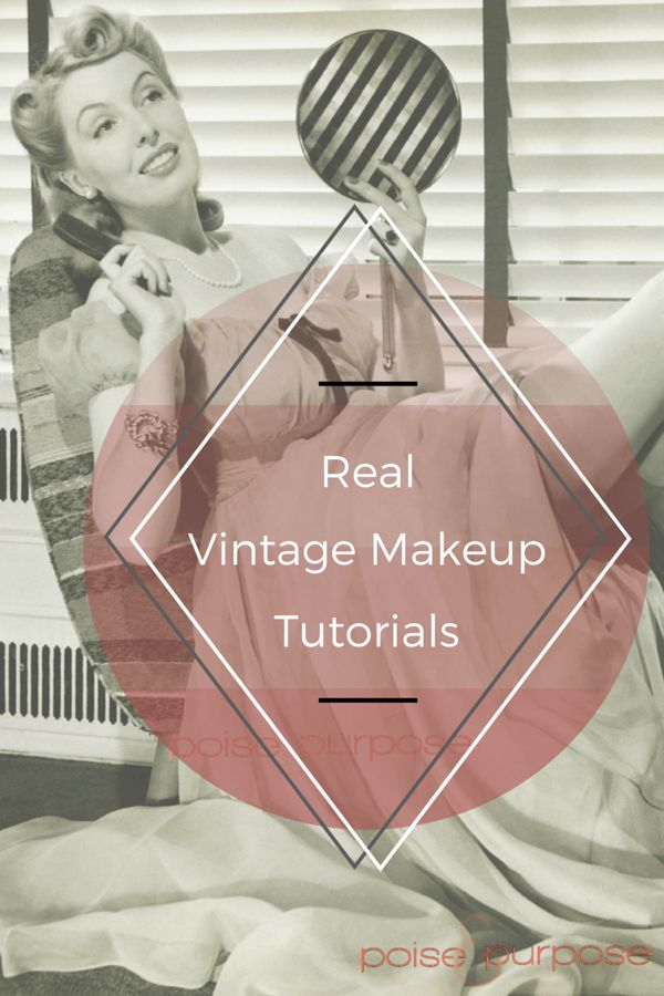Love this article from Poise and Purpose! Vintage contouring tutorial and red lipstick hacks?! I HAD to watch!