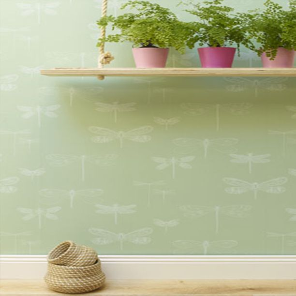 This summery wallpaper has us all in a flutter