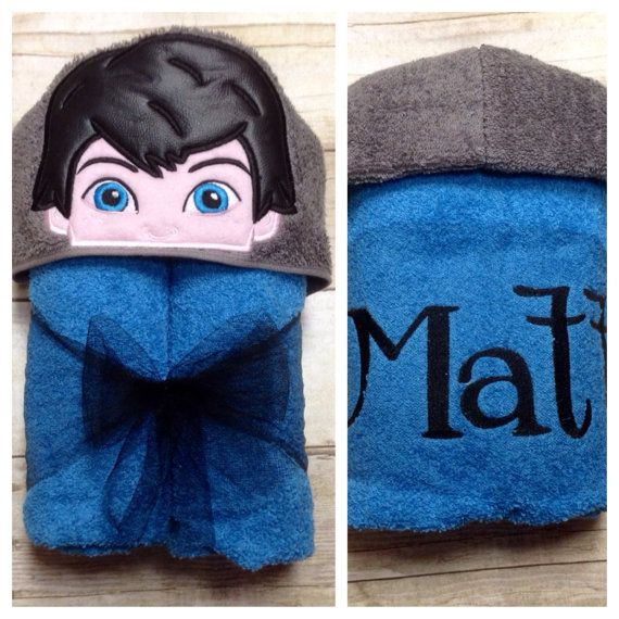 Miles from Tomorrowland Hooded Towel/ Personalized Hooded Towel/ Hooded Towels for Kids/ Boys Bathroom/ Beach Towel/ Pool Towel/ Bath Towels  These towels are larger than the standard infant size and fits toddlers through elementary school aged children. They are made from standard size (30X52), fade resistant, thick, soft bath towels and utilize a nearly full size hand towel as the hood. They are perfect for bath time, pool time, beach time, or play time used as...