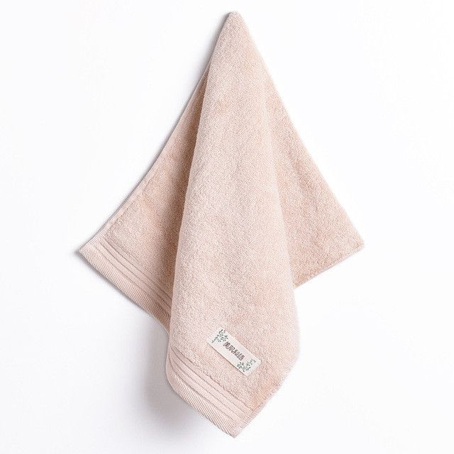 new 2017 Hand Towel - 2pcs/set 100% cotton cheap face towel Plain towels bathroom soft washcloth Toalha Magic towel 34*74cm