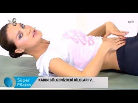 Ebru Şallı Karın Egzersizleri - Süper Pilates 14 Mayıs 2016