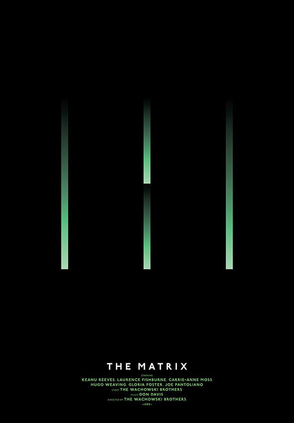 Michal Krasnopolski, The Matrix, Grid Movie Posters
