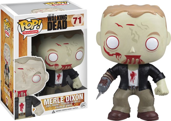 The Walking Dead - Merle Zombie Pop! Vinyl Figure by Funko