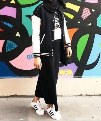 hijab-outfit-with-adidas-look More