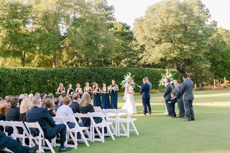 Honored to be a part of such a BEAUTIFUL wedding!    Classic Pinehurst Country Club Wedding by Amy Allen Photography » The Black Tie Bride