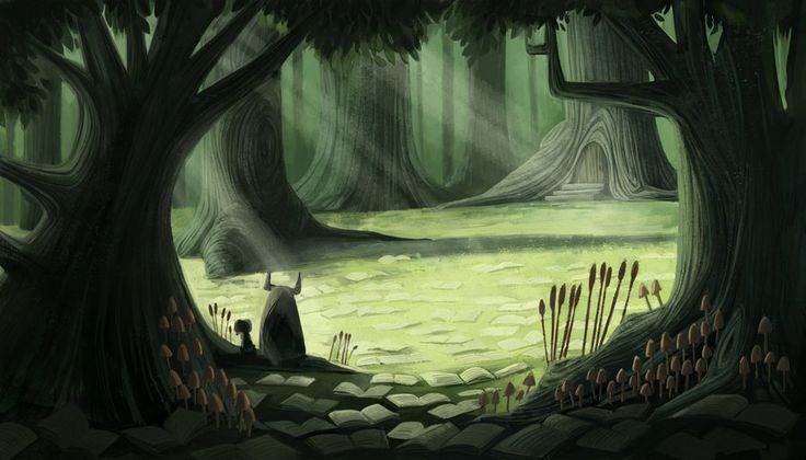 Storybook Forest by ~betsybauer on deviantART