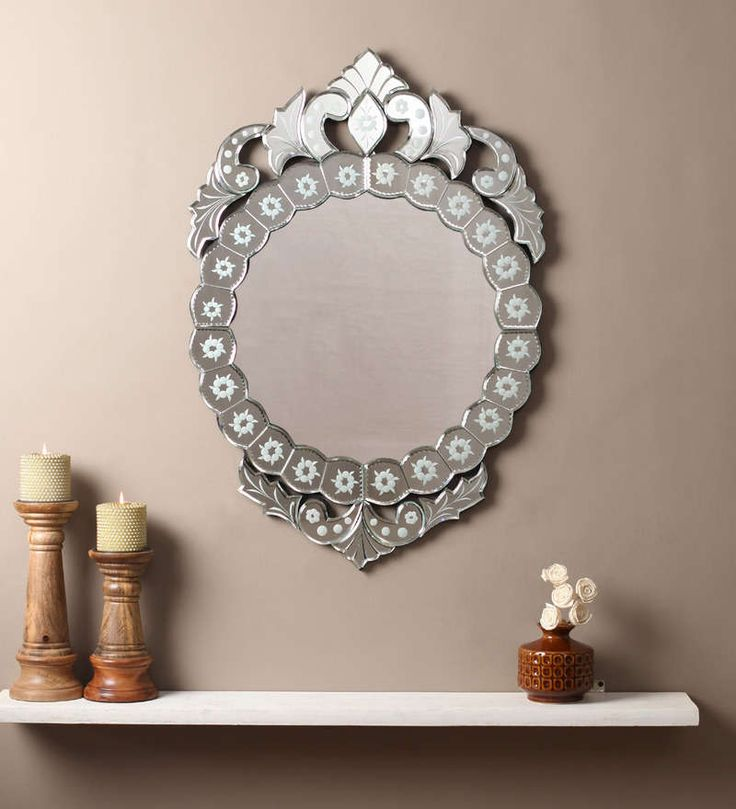 Ahab Silver MDF Mirror #mirrors #mirror #reflectors #show #pinit #pinterest #shazliving Shop at: https://www.shazliving.com/