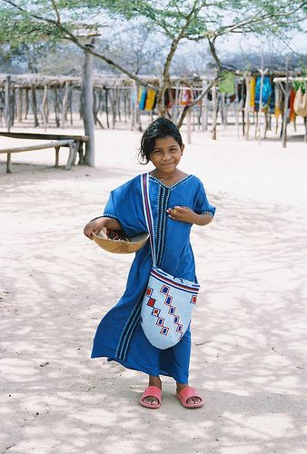 A little girl in La Guajira, Colombia. Guajiran girl | by AntiFilms