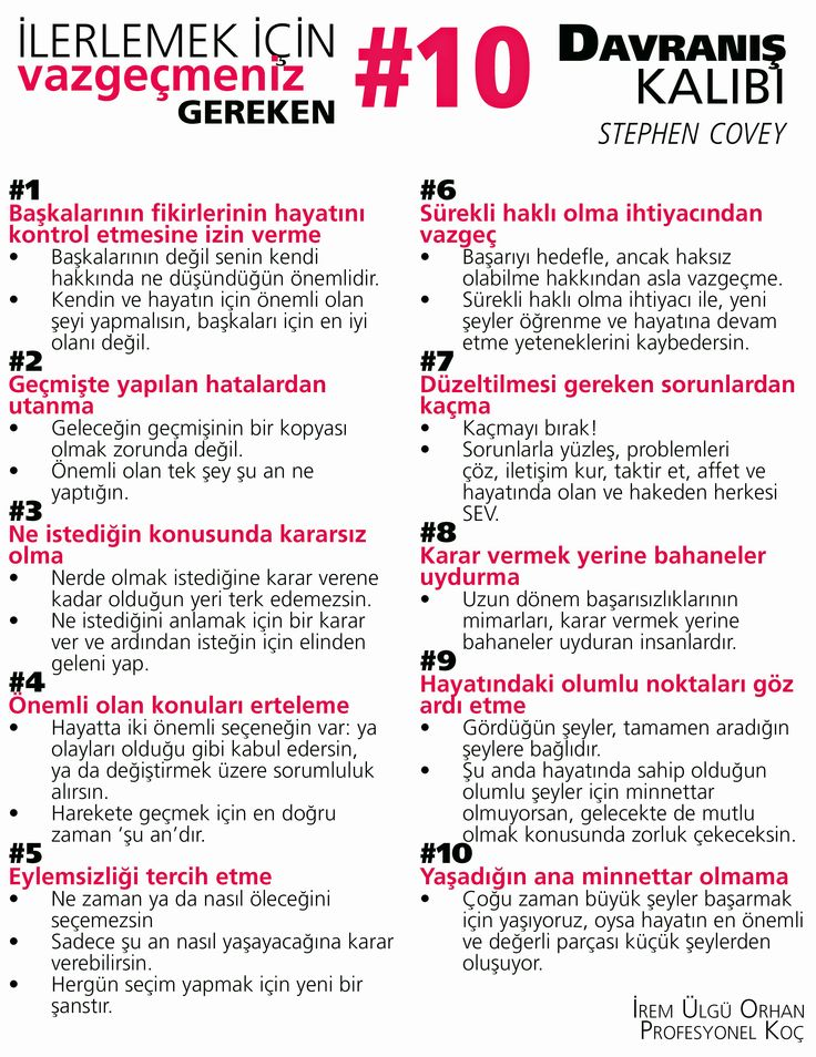 Stephen Covey, davranış kalıpları, ilerleme, progress, development, success