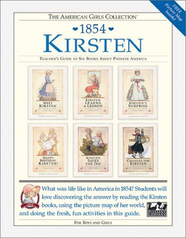 Kirsten, 1854: Teacher's Guide To Six Books About Pioneer... http://amzn.to/2pOW6yA