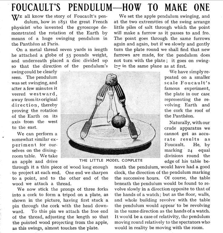 Foucault's pendulum!