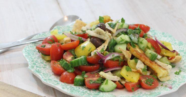 Greek Salad with a Nourish twist