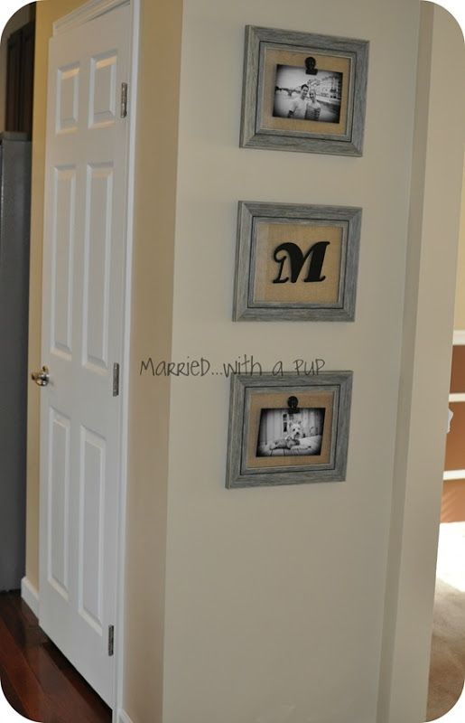 magnetic picture frame trio