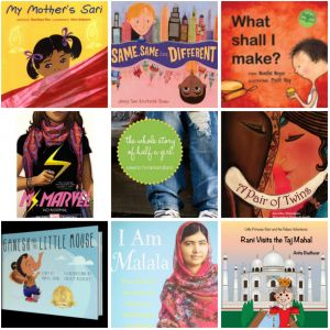 Books for South Asian kids two and up!