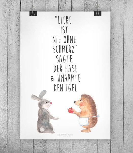 """Wanddeko - Poster """"Liebe"""" - ein Designerstück von small-world bei DaWanda"""