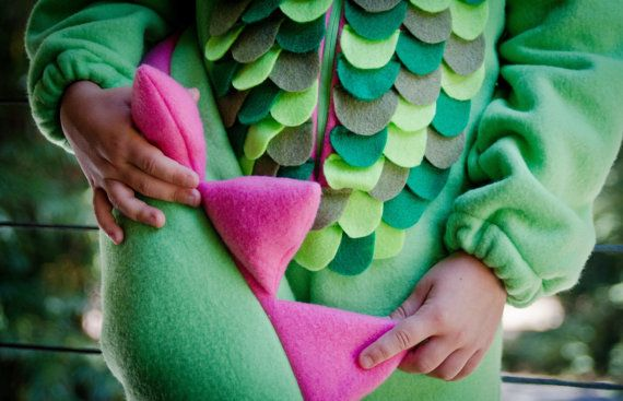 Dragon Magical Custom Costume for Kids by HopTo on Etsy