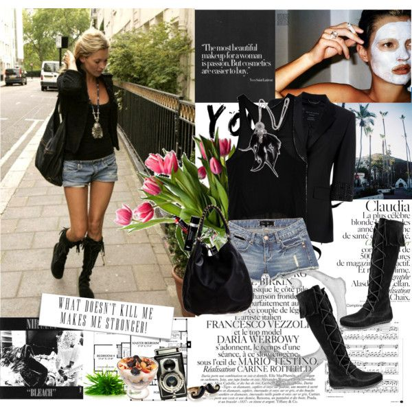 Kate moss street style polyvore dresses