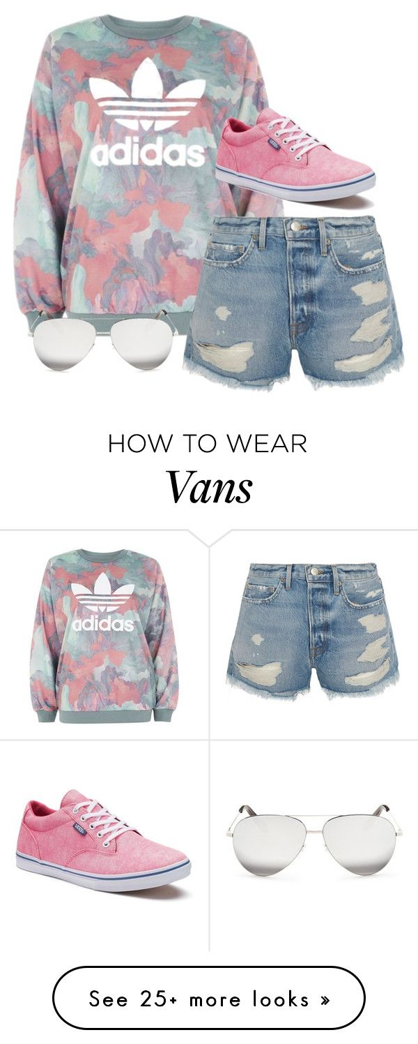 """""""What's the big deal with adidas?"""" by thezombieutube on Polyvore featuring adidas, Frame, Vans and Victoria Beckham"""