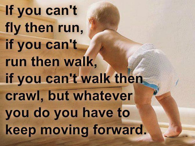 17 Best Keep Moving Forward Quotes On Pinterest
